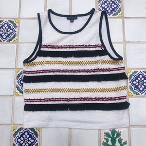 Topshop Cropped Tank Top Size 4
